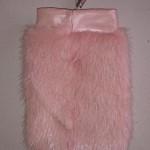 Чехол из розовой норки