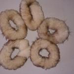 Резинки из стриженой норки мини