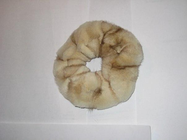 Резинка из стриженой норки
