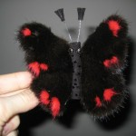 Заколка-бабочка